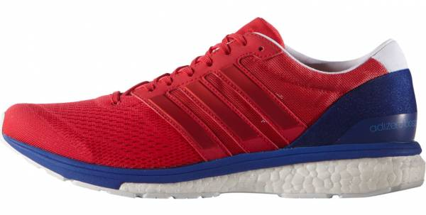 the best attitude efe8d 46172 Adidas Adizero Boston Boost 6 Red (Ray RedRay RedBold Blue)