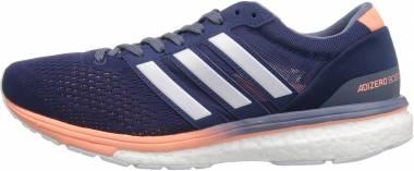 Adidas Adizero Boston Boost 6 - Noble Indigo/White/Raw Steel (BB6418)