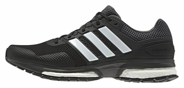 Adidas Response Boost 2 men black (core black/ftwr white/dgh solid grey)