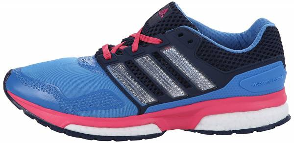 Adidas Response Boost 2 woman blue / white / bold orange