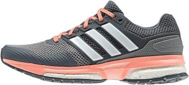 Adidas Response Boost 2 - Grau Grey Ftwr White Sun Glow S16 (S41910)