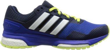 blau Adidas Response Boost Running Herren Breathable Running