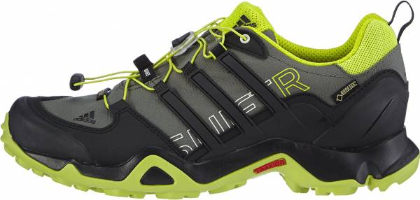 Adidas Terrex Swift R GTX men base green-black-semi solar yellow
