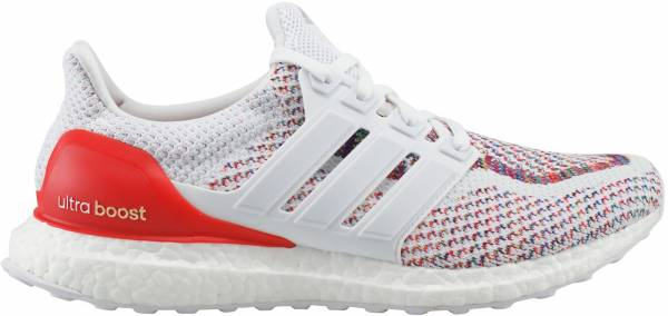 Adidas Ultra Boost men blanco (ftwbla / ftwbla / rojo)