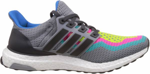 Adidas Ultra Boost men gris / verde (gris / grpudg / verimp)