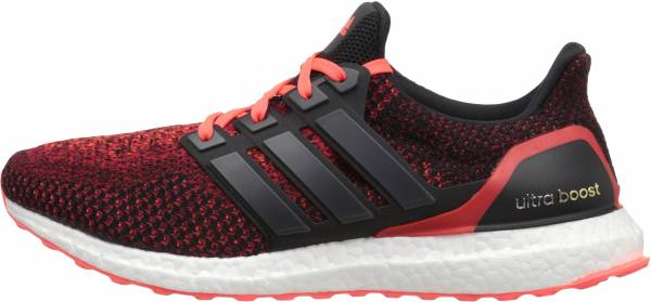 Adidas Ultra Boost men black/solar red