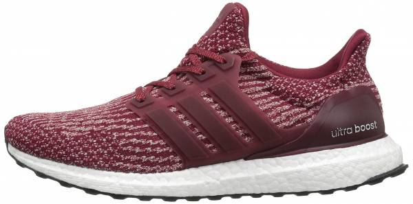 Adidas Ultra Boost men collegiate burgundy/mystery red