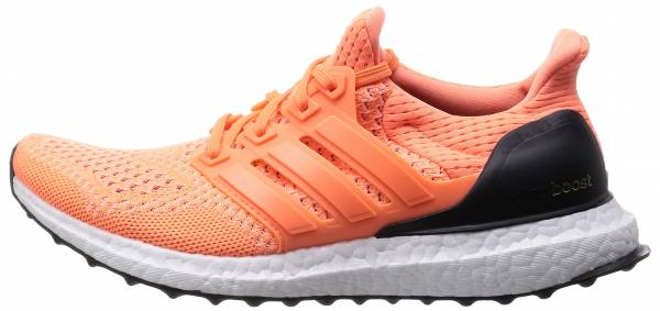 Adidas Ultra Boost woman - orange-noir-blanc