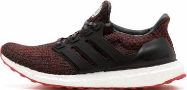 Adidas Ultraboost - Black Core Black Hi Res Red S18 Grey Five F17 (BB6173)