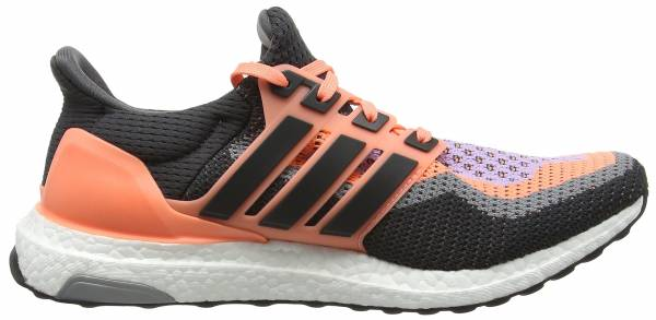 Adidas Ultra Boost woman orange (sun glow/dgh solid grey/purple glow)