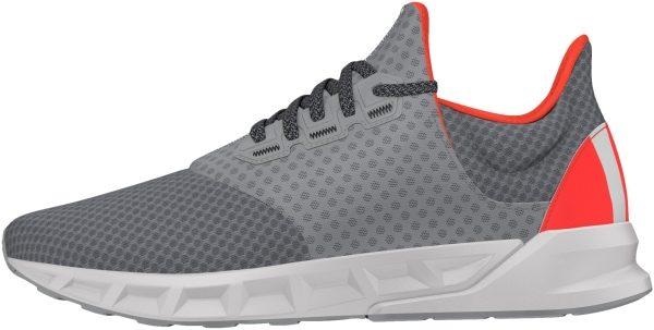 Adidas Falcon Elite 5 men gris (grimed / ftwbla / rojsol)