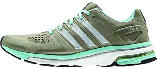 Adidas Adistar Boost ESM woman taupe/mint