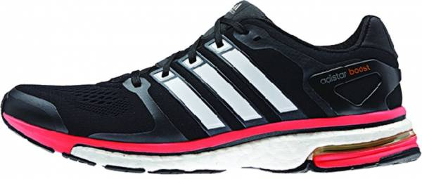 Adidas Adistar Boost ESM men black / core white / solar red