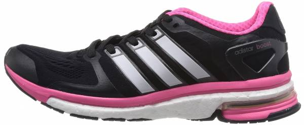 Adidas Adistar Boost ESM woman core black /zero metallic/solar pink