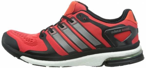best website e8cb9 3d542 Adidas Adistar Boost ESM Red  Black