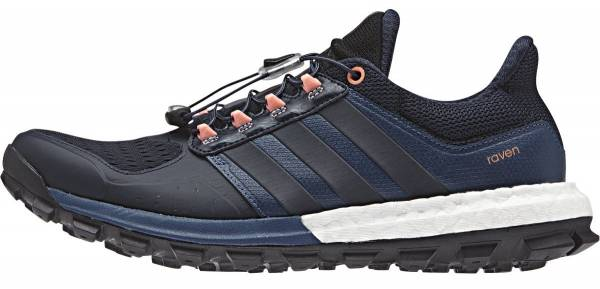 Adidas Adistar Raven Boost Mineral Blue, Night Navy, Sun Glow