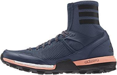 Adidas Adizero XT Boost - Blau Mineral Blau Night Navy Blau Sun Glow Orange (S74412)