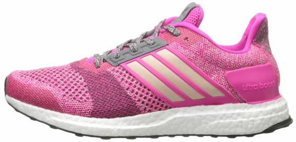 Adidas Ultra Boost ST men shock pink/halo pink/mineral red