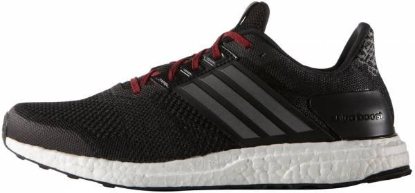 Adidas Ultra Boost ST men black/iron metallic/vivid red