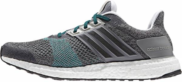 Adidas Ultra Boost ST men grey / black / green (gray / negbas / eqtver)
