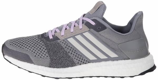 Adidas Ultra Boost ST men grey/chalk white/purple glow