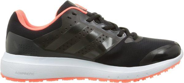hot sale online be454 cfe1e adidas duramo 7 atr m zapatillas para hombre color negro plata naranja  talla 40 2 3 hombre negro plata naranja d355 600