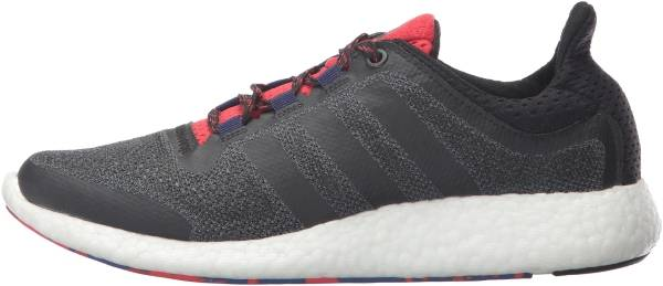 Adidas Pure Boost 2.0 Black/Black/Vivid Red