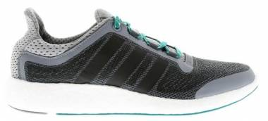 Adidas Pureboost 2.0 - Grey Core Black Green AQ4440 (AQ4440)