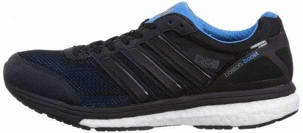Adidas Adizero Boston Boost 5 - Black Black 1 Black 1 Solar Blue2 S14 (M17414)