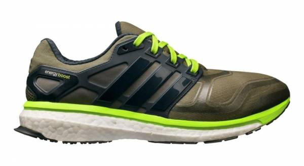 premium selection 4e540 f5781 ... 2 m cushioned running shoe earth green night shade solar slime 7 m us  mens earth green nig 600 energy boost adidas