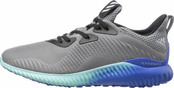 Adidas AlphaBounce men grey/clear onix/clear aqua