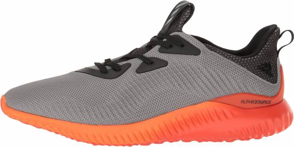 Adidas AlphaBounce men grey/utility black/energy