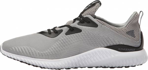 Adidas AlphaBounce men solid grey/white/black