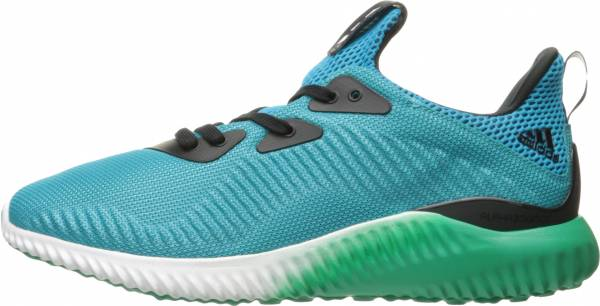 Adidas AlphaBounce men energy blue/white/core green
