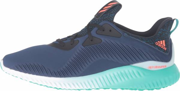 Adidas Alphabounce Shock Blue Running Shoes