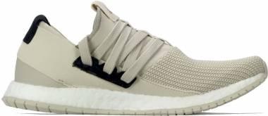 Adidas Pureboost R - Dark Sand White Bb0812 (BB0812)
