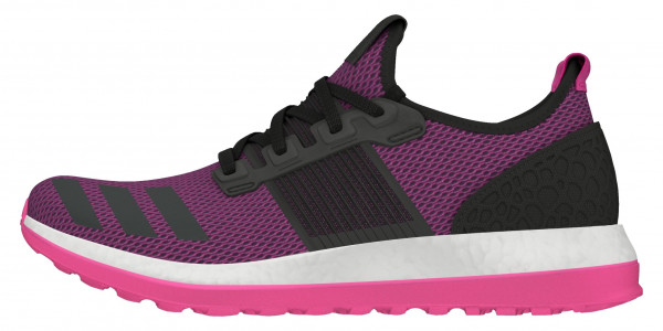 Adidas Pure Boost ZG woman black (negbas / negbas / rosimp)