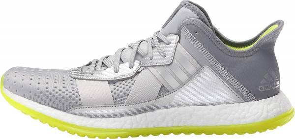 Adidas Pure Boost ZG men silver/metallic/white/semi solar slime