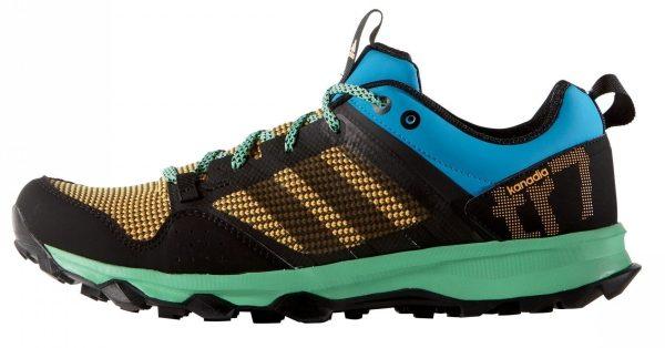 Adidas Kanadia 7 - Solar Blue/Black/Gold (AQ5042)