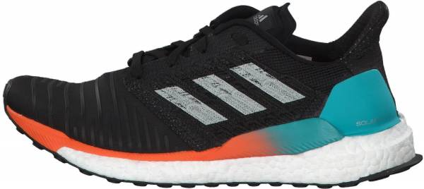 outlet store b1857 531a9 Adidas Solar Boost Black