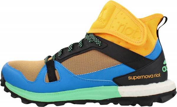Adidas Supernova Riot men solar gold/solar blue/green glow