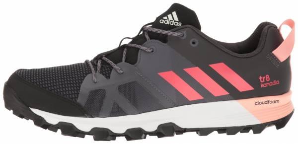Adidas Kanadia 8 woman black/core pink/trace grey