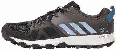 Adidas Kanadia 8 Black (Core Black/Easy Blue/Trace Grey) Men