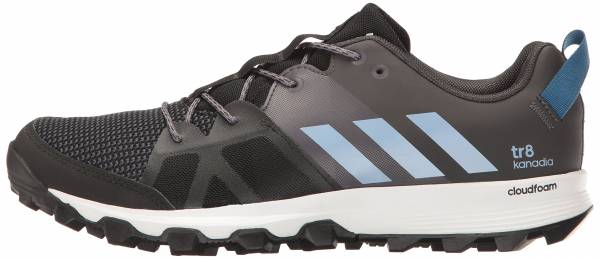 Adidas Kanadia 8 Black/Easy Blue/Trace Grey