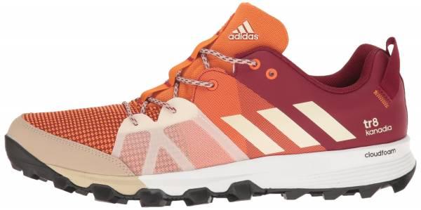 Adidas Kanadia 8 men tactile orange/chalk white/col. burgundy