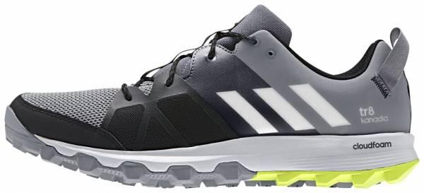 Adidas Kanadia 8 men grey/white/solar yellow