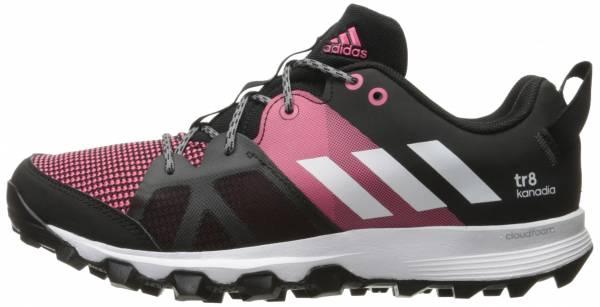 Adidas Kanadia 8 woman black/white/bahia pink
