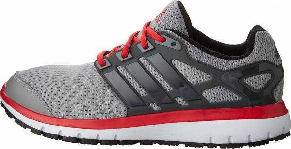 Adidas Energy Cloud men medium grey heather solid grey/dark grey/ray red