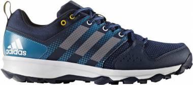 Adidas Galaxy Trail - Blau Collegiate Navy Footwear White Eqt Yellow (BB3479)