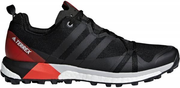 Adidas Terrex Agravic - Black/Carbon/Hi-res Red